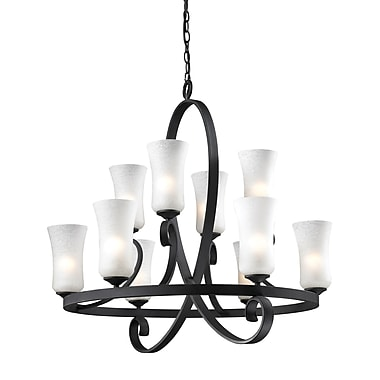 Z-Lite Arshe (603-10) 10 Light Chandelier, 32