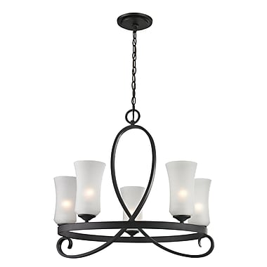 Z-Lite Arshe (603-5) 5 Light Chandelier, 26.5
