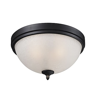 Z-Lite Arshe (603F2) 2 Light Flush Mount, 13.25
