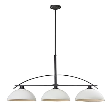 Z-Lite Ellipse (606-3) 3 Light Island/Billiard Light, 45