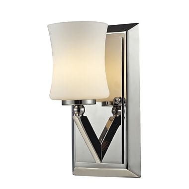Z-Lite Elite (608-1V-CH) 1 Light Vanity Light, 4.5