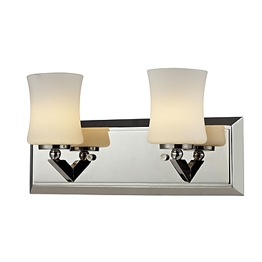 Z-Lite Elite (608-2V-CH) 2 Light Vanity, 4.5