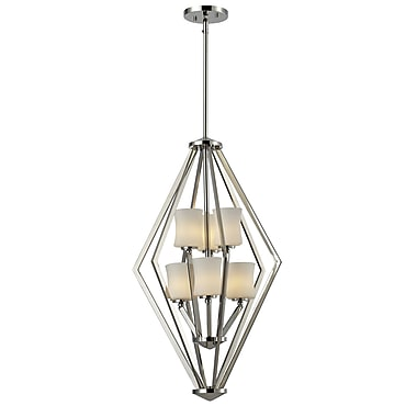 Z-Lite Elite (608-6-CH) 6 light foyer light, 17