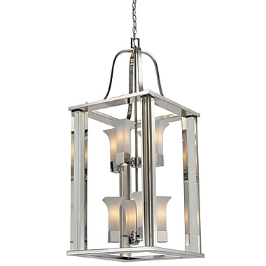 Z-Lite Lotus (611-42-CH) 8 Light foyer light, 18