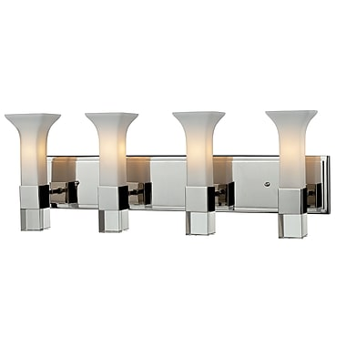 Z-Lite Lotus (611-4V-CH) 4 Light Vanity, 5.25