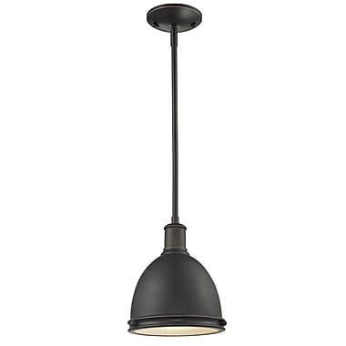 Z-Lite Mason 709MP-OB, 1 Light Mini Pendant, 8