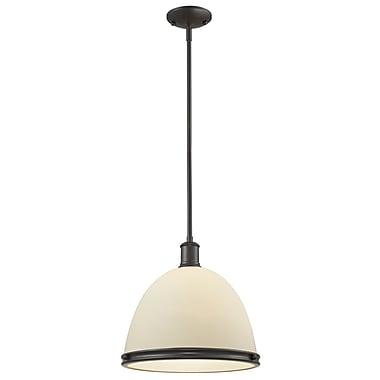 Z-Lite – Luminaire suspendu Mason (712P13-BRZ) à 1 lampe, 13 x 61,5 po, bronze