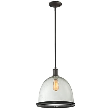 Z-Lite Mason 716P13-BRZ, 1 Light Pendant, 13