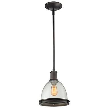 Z-Lite Mason 717MP-OB, 1 Light Mini Pendant, 8