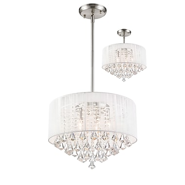 Z-Lite Aura (891-20W-C) 5 Light Pendant, 20