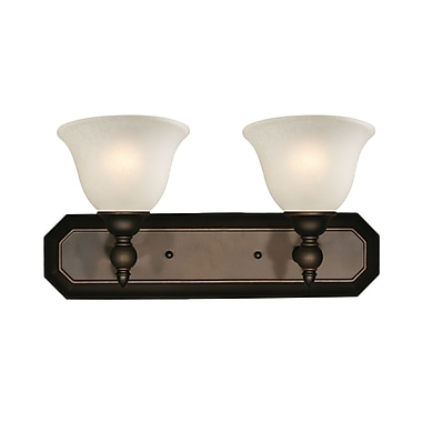 Z-Lite Clayton (904-2V) 2 light vanity, 8