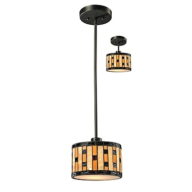 Z-Lite Raya (Z8-51MP-C) 1 Light Mini Pendant, 8