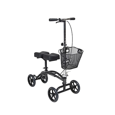 Drive Medical Dual Pad Steerable Knee Walker with Basket