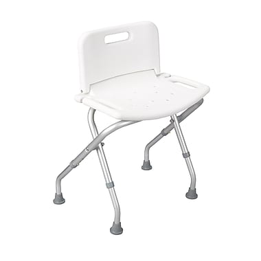 Drive Medical Folding Bath Bench, With Backrest