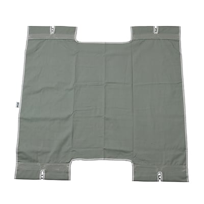 Drive Medical Bariatric Heavy Duty Canvas Sling, No Commode Cutout