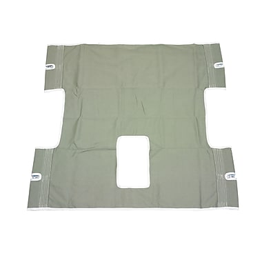 Drive Medical Bariatric Heavy Duty Canvas Sling, With Commode Cutout