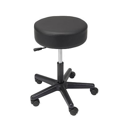 Drive Medical Revolving Pneumatic Adjustable Height Stool, Plastic Base