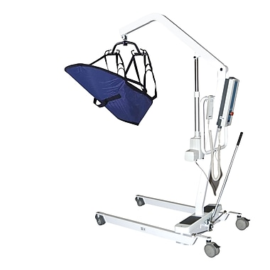 Drive Medical Electric Patient Lift with Rechargeable Battery, Removable Battery