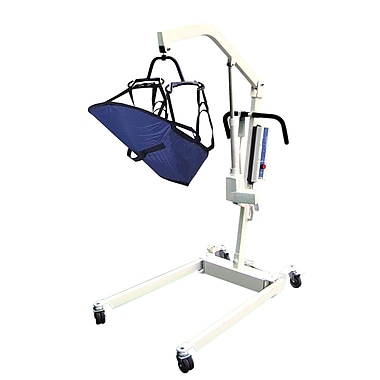 Drive Medical Bariatric Rechargeable Patient Lift and 4 Point Cradle, Non Removable Battery