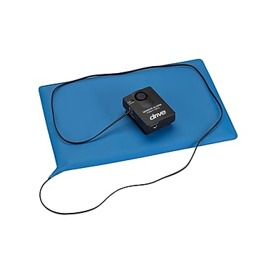 Drive Medical Pressure Sensitive Chair or Bed Patient Alarm, No Reset, Chair Pad 10