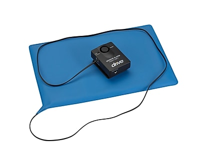 Drive Medical Pressure Sensitive Chair or Bed Patient Alarm, With Reset, Chair Pad 10