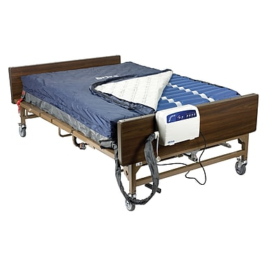 Drive Medical Med Aire Bariatric Heavy Duty Low Air Loss Mattress Replacement System, 54