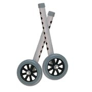 "Drive Medical Extended Height 5"" Walker Wheels and Legs Combo Pack"