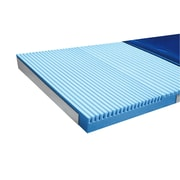 "Mason Medical ShearCare 500 Pressure Redistribution Foam Mattress, 84"" Length, No Perimeter"
