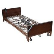 Drive Medical Delta Ultra Light Full Electric Low Bed, Full Rails, Foam Mattress