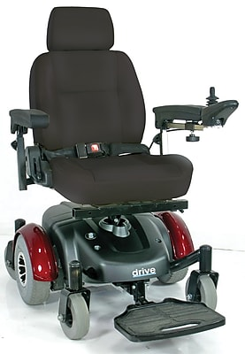 Drive Medical Image EC Mid Wheel Drive Power Wheelchair, 20