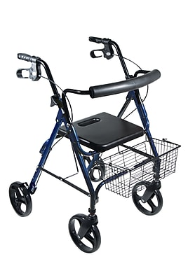 Drive Medical DLite Rollator Walker with 8