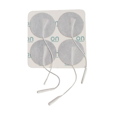 Drive Medical Round Pre Gelled Electrodes for TENS Unit, 1.75