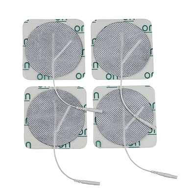 Drive Medical Round Pre Gelled Electrodes for TENS Unit, 3