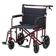 Drive Medical - Fauteuil de transport bariatrique robuste