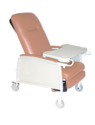 Drive Medical 3 Position Geri Chair Recliner, Rosewood