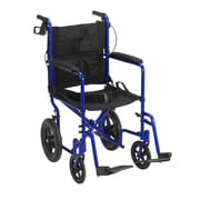 Drive Medical Expedition Transport Wheelchair with Hand Brakes
