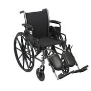 Drive Medical Cruiser III Wheelchair with Flip Back Removable Arms, Desk Arms, Legrest