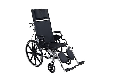 Drive Medical Viper Plus GT Full Reclining Wheelchair, 16