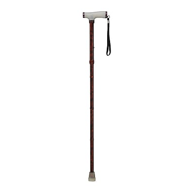 Drive Medical Folding Canes with Glow Gel Grip Handle, Copper