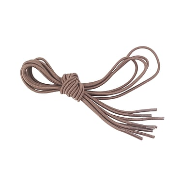 Lifestyle Essentials Elastic Shoe and Sneaker Laces, Brown