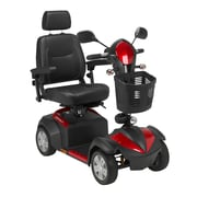 """Drive Medical Ventura 4 Wheel Scooter, 18"""" Captains Seat"""