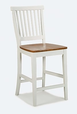 Home Styles Counter Sustainable Hardwood Bar Stool