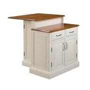 """Home Styles 36.5"""" Asian Hardwood Kitchen Island"""