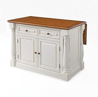 Home Styles Solid Hardwood Monarch Kitchen Island
