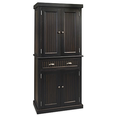 Home Styles Nantucket Hardwood Solids & Engineered Wood Kitchen Pantry