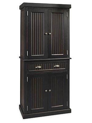 Home Styles Nantucket Hardwood Solids & Engineered Wood Kitchen Pantry