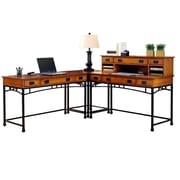 """Home Styles 42"""" Metal, Oak, Veneer, Wood Corner Desks"""