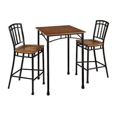 Home Styles Modern Craftsman Engineered Wood Solids Bistro Set