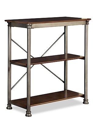 Home Styles The Orleans Powder-Coated Metal and Birch Veneer Multi-Function 3 Shelf Unit