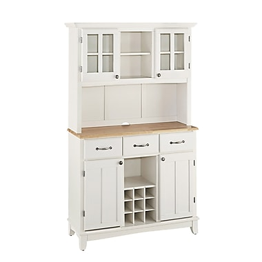 Home Styles Solid Wood and Veneers Buffet and Hutch